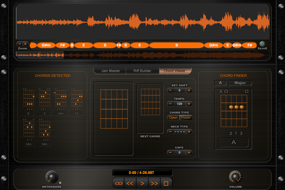 Enhance your guitar playing with free Riffstation app